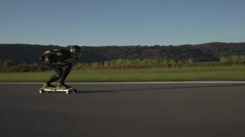 skate électrique record mondial